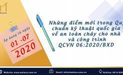 MỘT SỐ ĐIỂM MỚI TRONG QCVN 06:2020/BXD (ÁP DỤNG TỪ 01/07/2020)