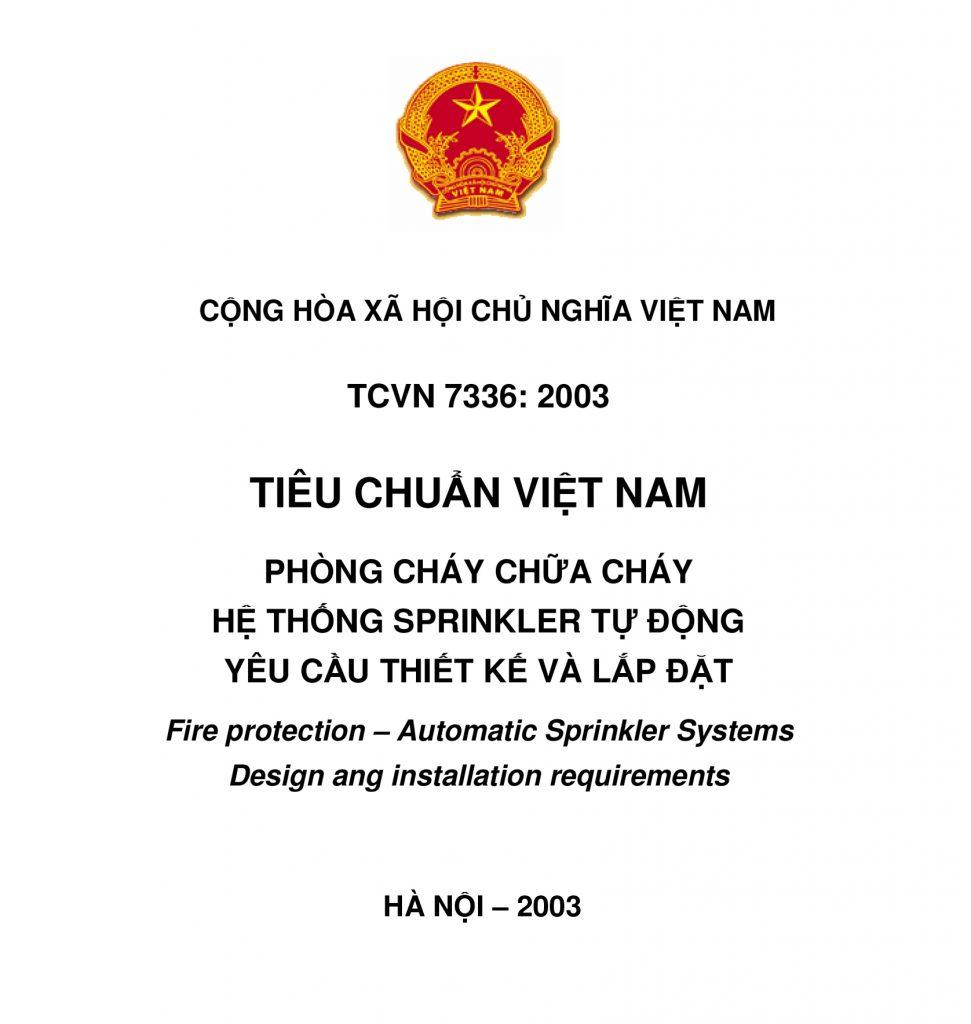 TCVN 7336-2003 HT Sprinkler