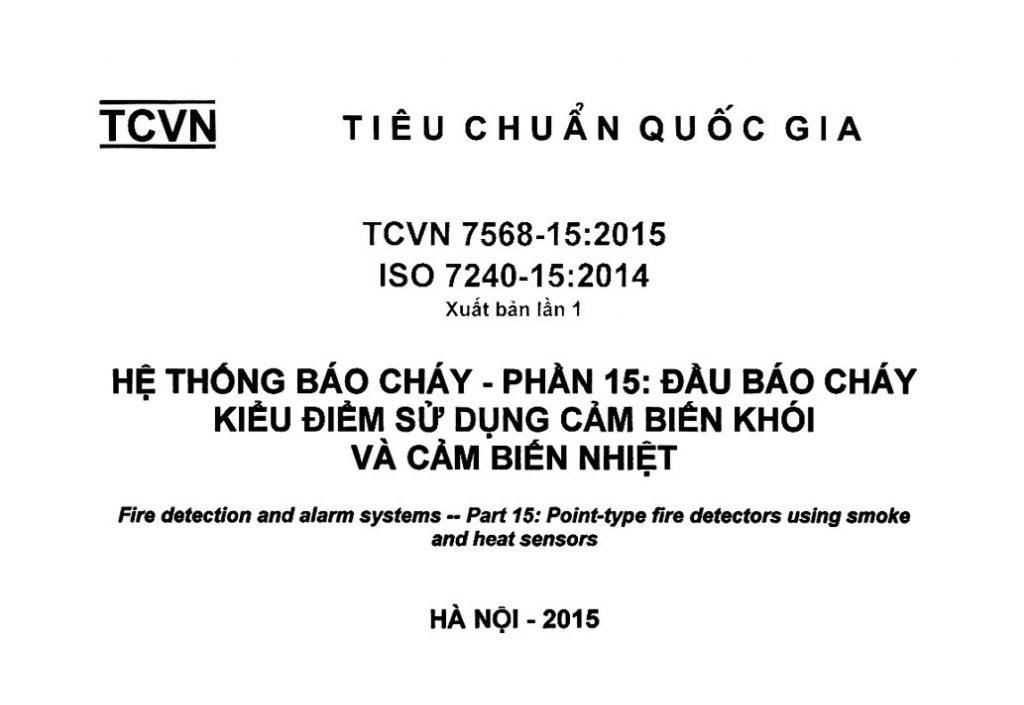 TCVN 7568-15-2015 HTBC-Dau bao chay kieu diem su dung cam bien khoi va cam bien nhiet-1