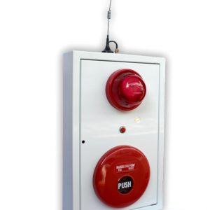 tổ hợp chuông đèn nút nhấn báo cháy FSMBL-001