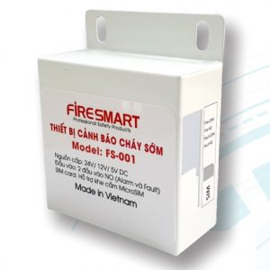 thiết bị cảnh báo cháy sớm FS-001